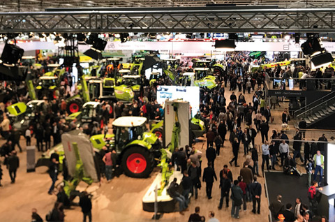 Messemanagement für CLAAS zur AGRITECHNICA 2017